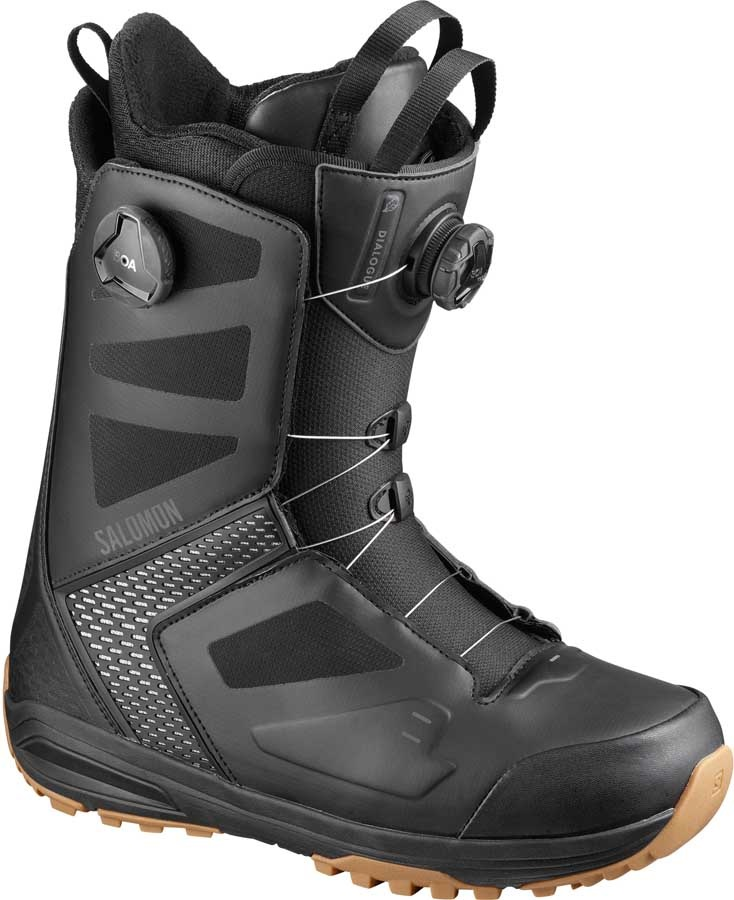 Salomon Dialogue Wide Focus BOA Mens Snowboard Boots, UK 11.5 2020