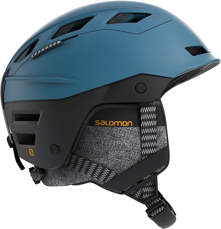 Salomon QST Charge Ski/Snowboard Helmet, M Moroccan Blue