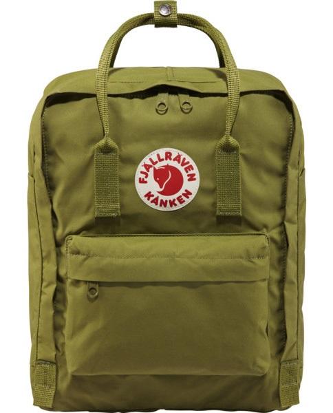 Fjallraven Kanken Backpack, 16L Guacamole