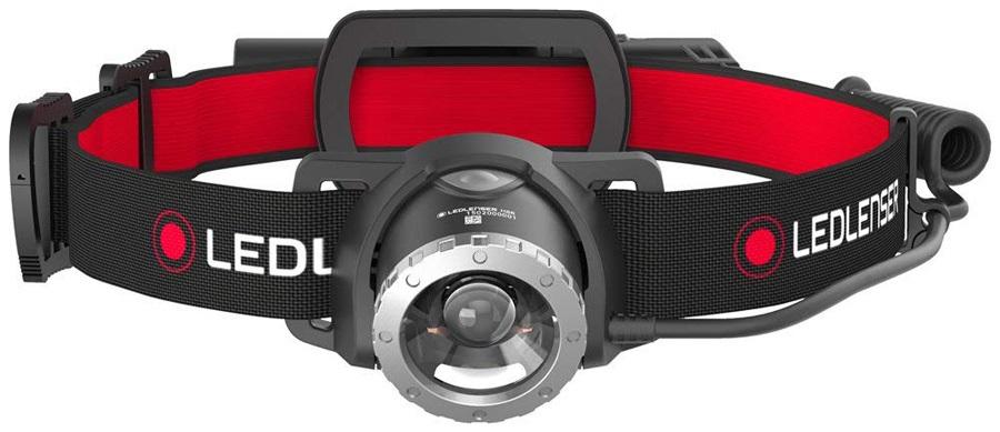 Led Lenser H8R Headlamp IPX56 Rechargable Head Torch, 600 Lumens Black