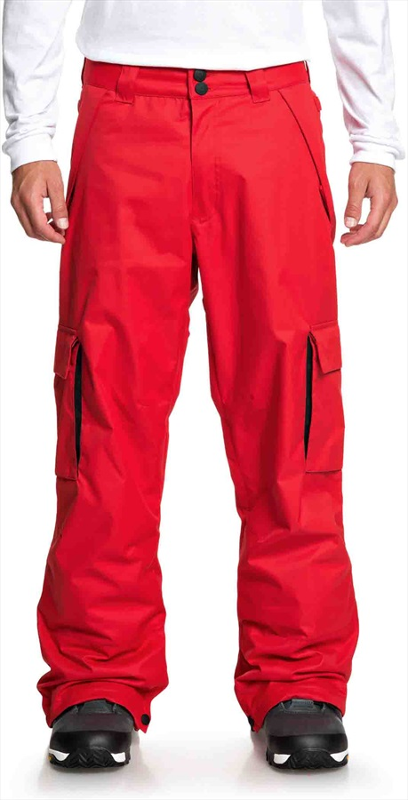 DC Banshee Ski/Snowboard Pants, L Racing Red