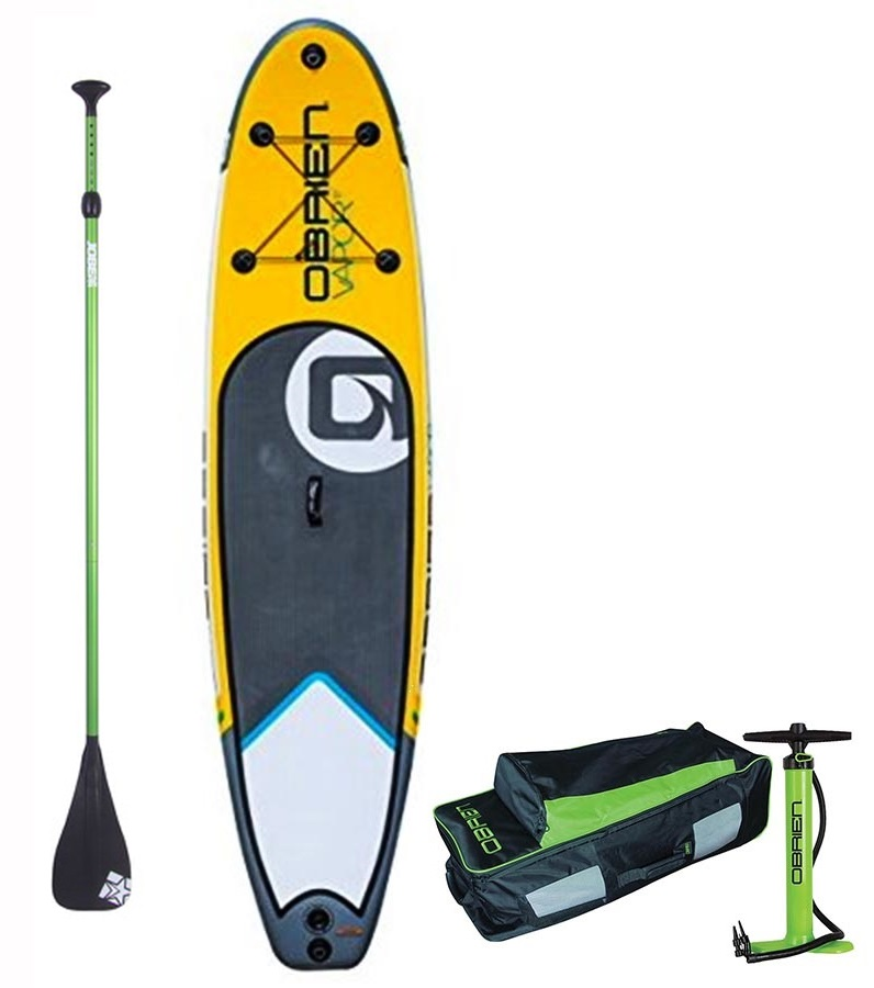 """O'Brien Vapor All-round ISUP Paddleboard Package, 10'6"""""""