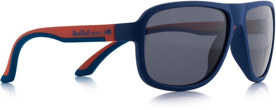 e5ed86eaee3f Red Bull Spect Loop Smoke Polarised Sunglasses, Matte Blue/Red