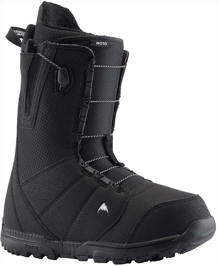 Burton Moto Men's Snowboard Boots, UK 8 Black 2020