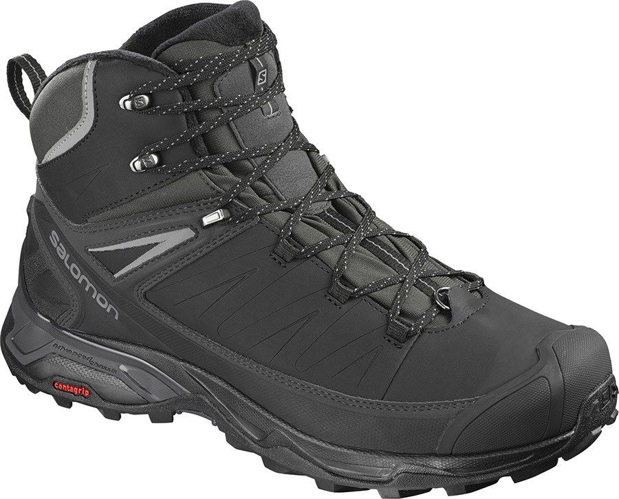 new products 12001 fd756 Salomon X ULTRA Mid Winter CS WP Hiking Boots, UK 10 Black/Phantom