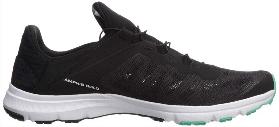 4cde3f56 Salomon Amphib Bold Women's Running Shoe, UK 5.5 Black/White/Green