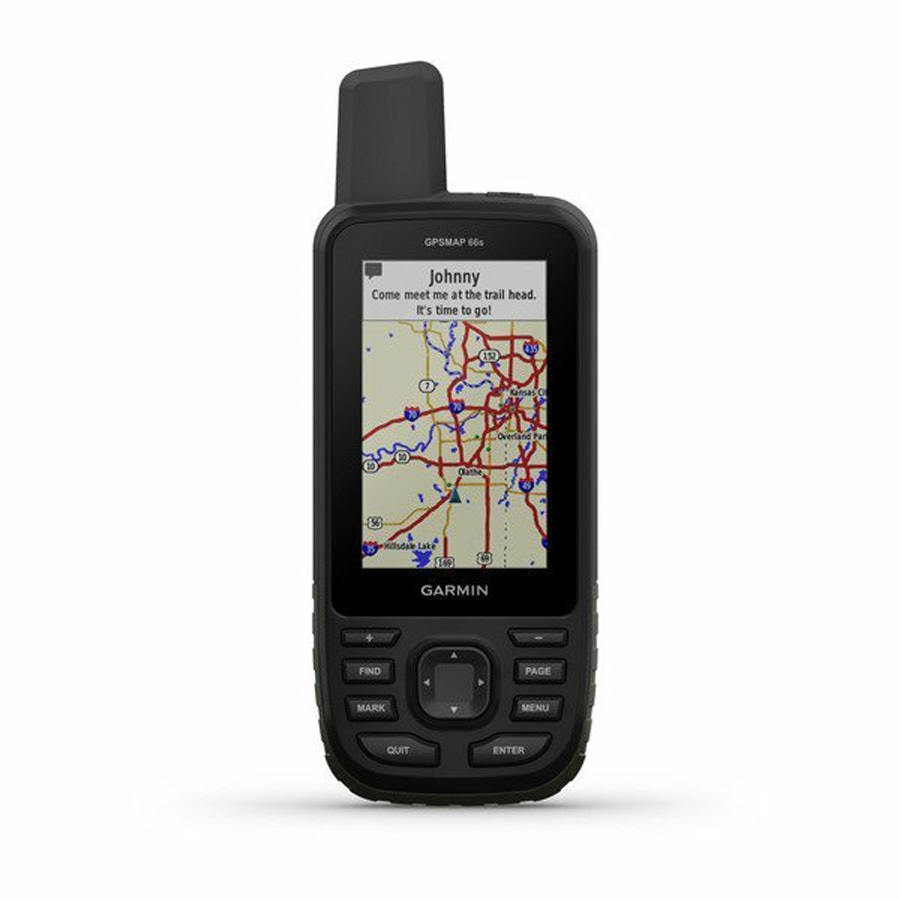 Garmin GPSMAP 66S With BridsEye Select Great Britain Plus, O/S Grey
