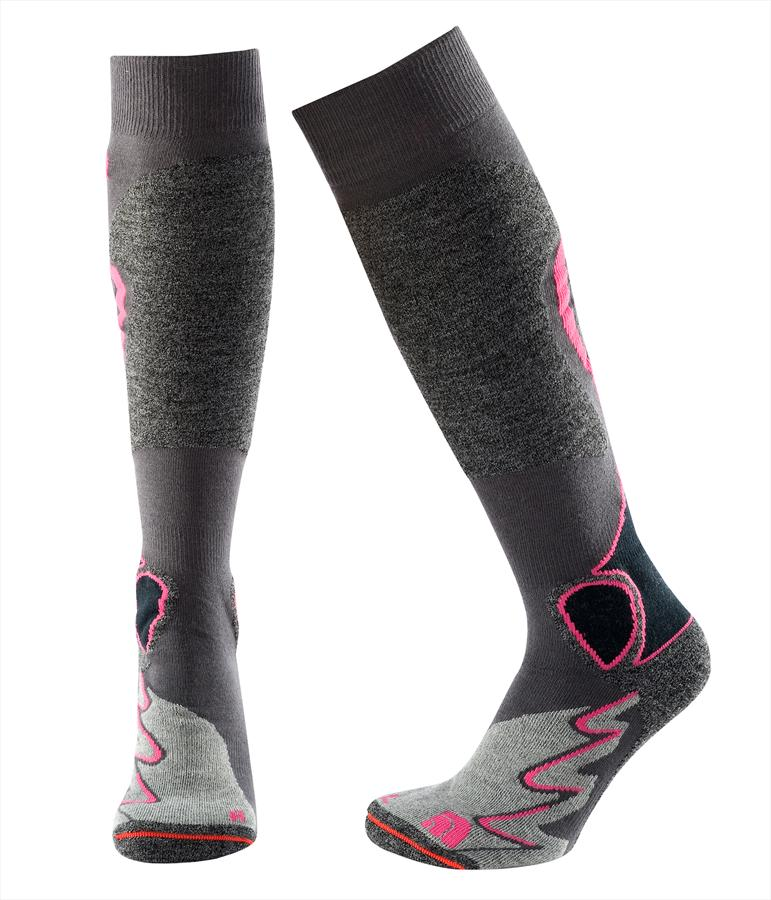 9eacd9cd7 The North Face Ultra Midweight Women's Ski Socks, S, Fusion Pink