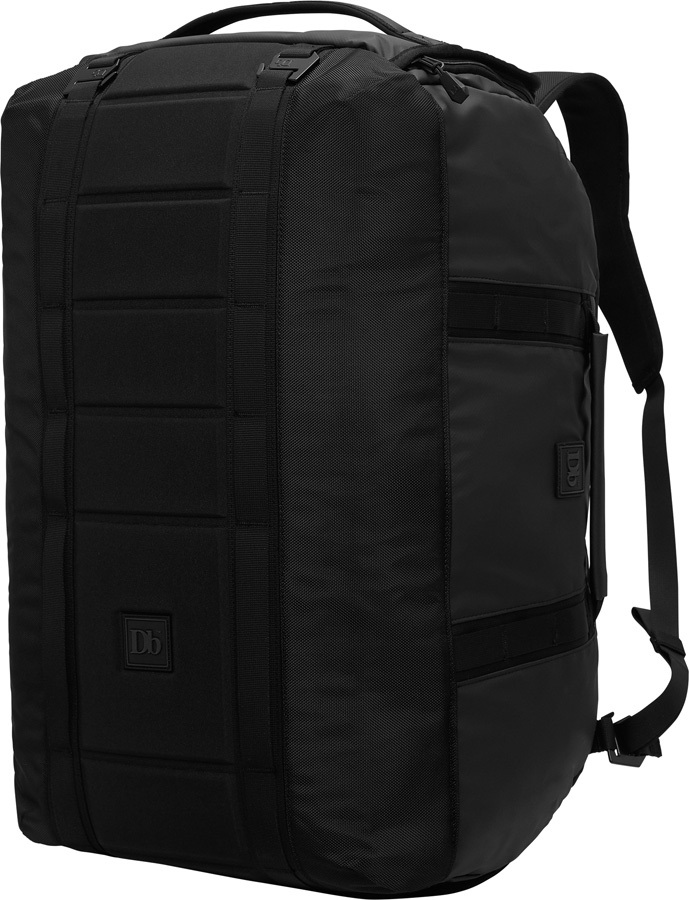 Douchebag Adult Unisex The Carryall Backpack, 65L Black Out