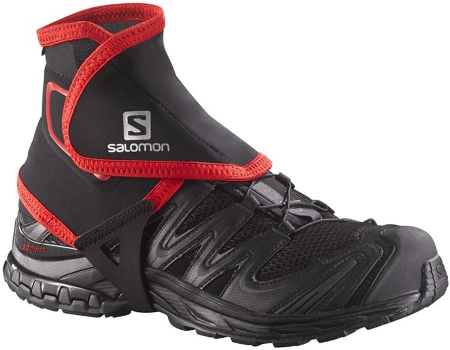 Salomon Trail High Ankle Gaiter, L Black