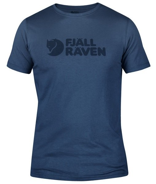 Fjallraven Logo Short Sleeve Graphic T-Shirt, S Uncle Blue