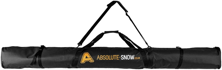 Absolute Flight Padded Ski Bag, 185cm, Black, - Conditions Apply!