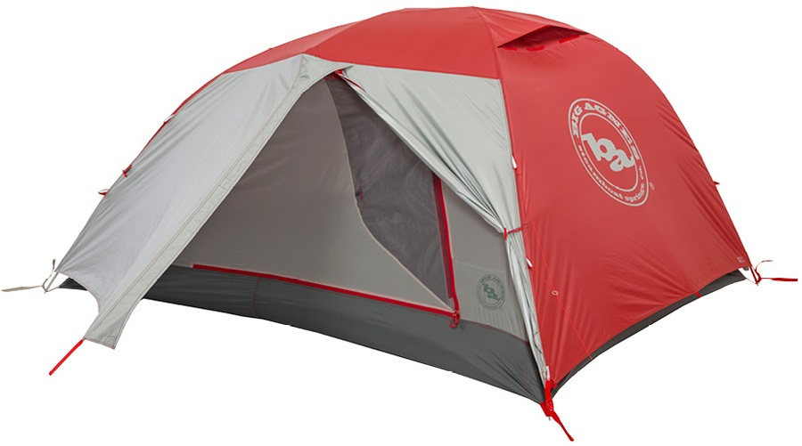 Big Agnes Copper Spur HV2 Expedition Mountaineering Tent, 2 Man Red