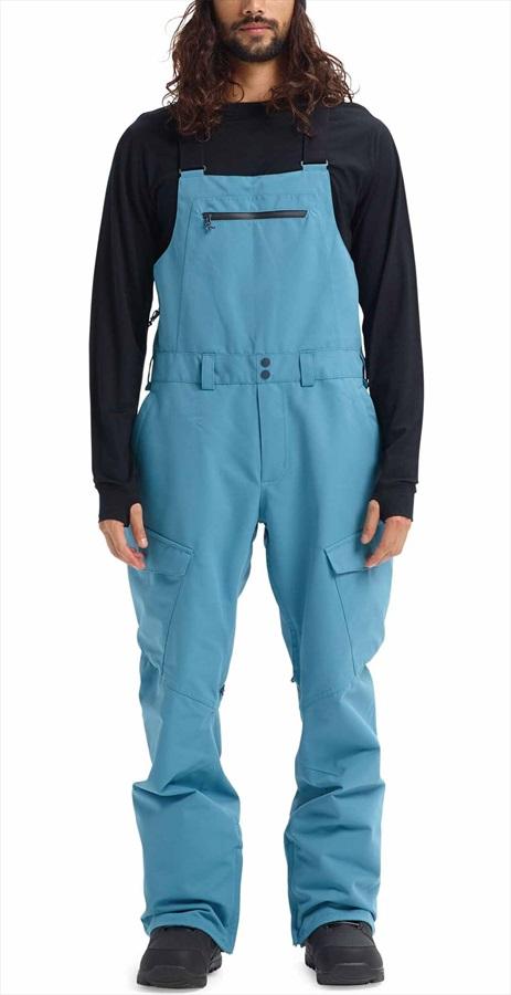 Burton Reserve Bib Ski/Snowboard Pants, M Storm Blue