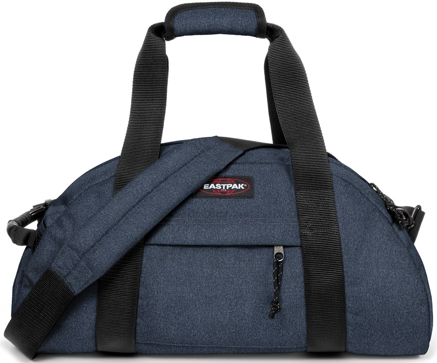 Eastpak Stand Duffel Travel Bag, 32L Double Denim