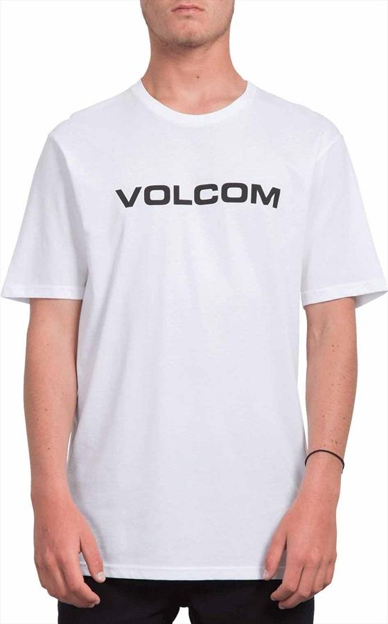 Volcom Crisp Euro Basic T-Shirt, S White