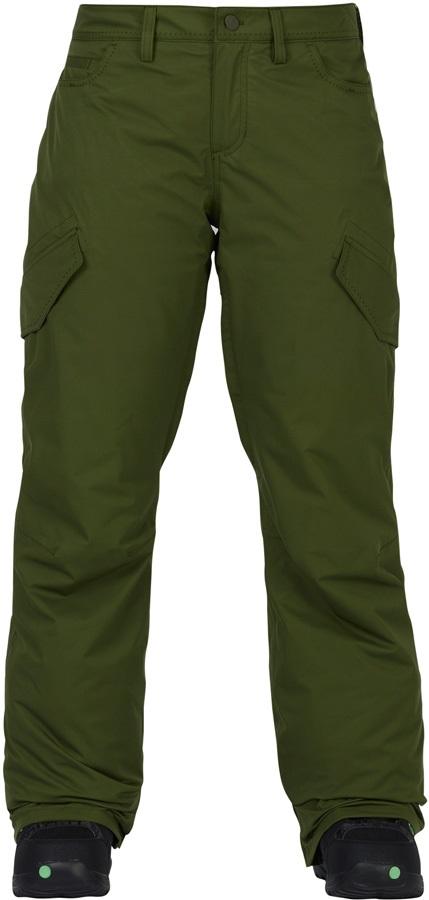 Burton Fly Pants Women's Snowboard/Ski Trousers, S Rifle Green