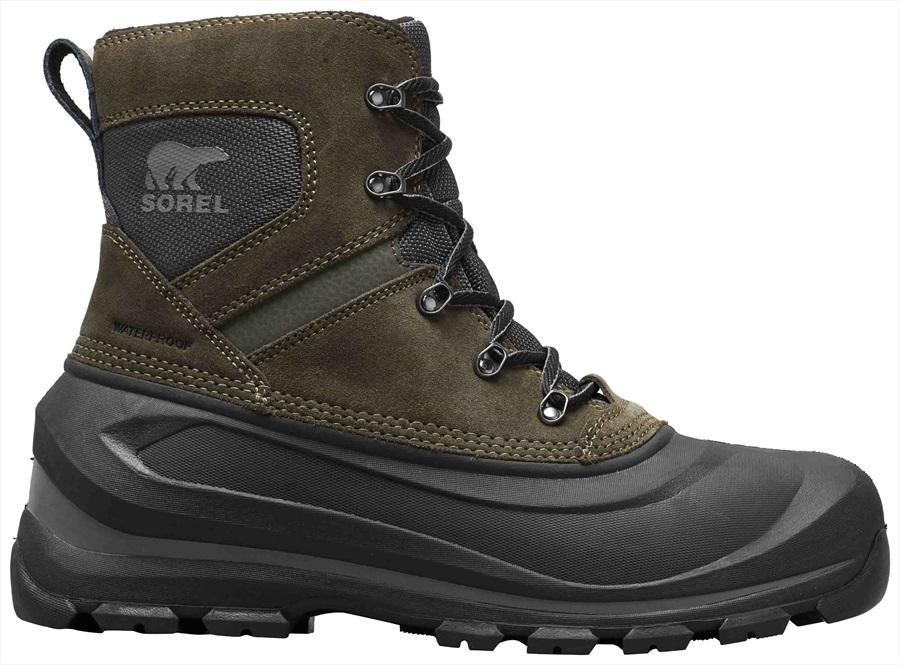 c35fcbb0f00 Sorel Buxton Lace Men's Snow Winter Boots, UK 8 Alpine Tundra/Quarry