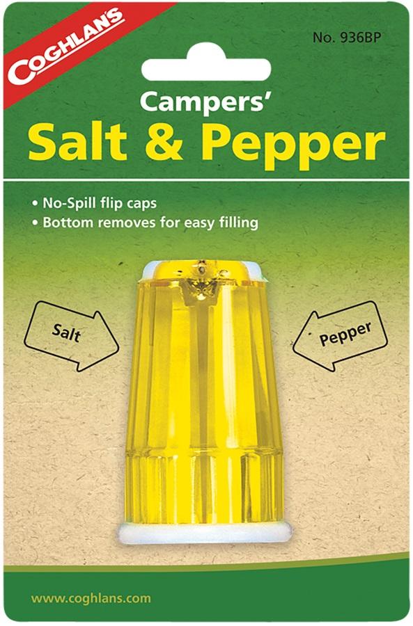 Coghlan's Campers Salt & Pepper Shaker Backpacker's Seasoning Kit