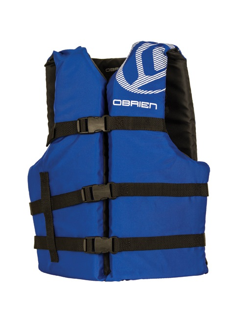 O'Brien Universal Watersports Vest Buoyancy Aid 4 Pack, One Size Blue
