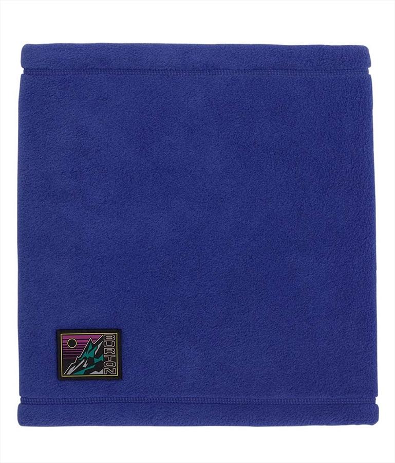 Burton Cinchup Polartec Fleece Neck Warmer, One Size Royal Blue