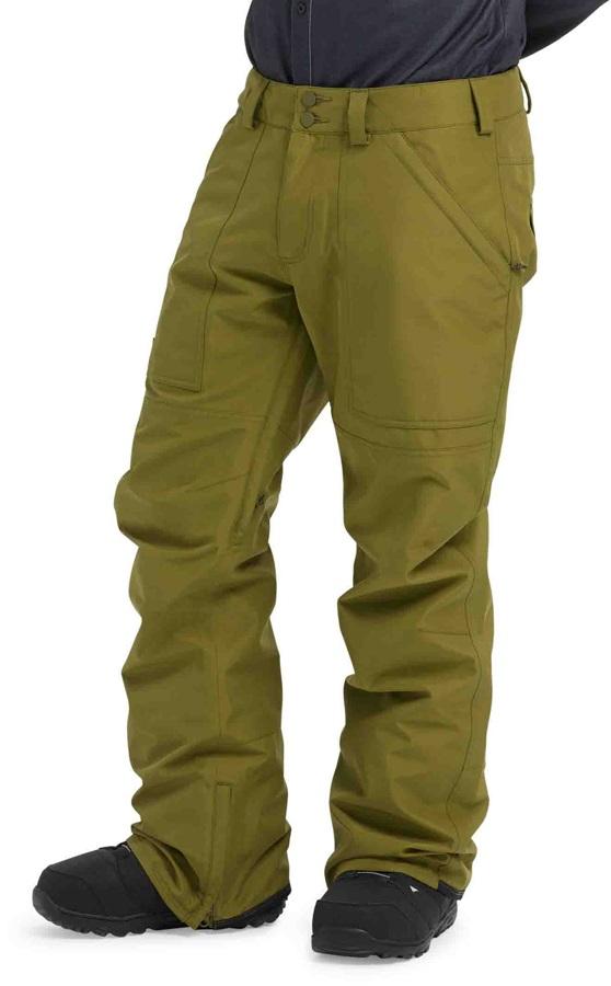 Burton Ballast Pants Gore-Tex Ski/Snowboard Trousers, M Martini Olive