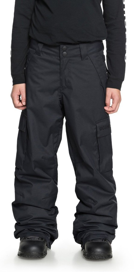 DC Banshee Youth Kids' Ski/Snowboard Pants, S Black