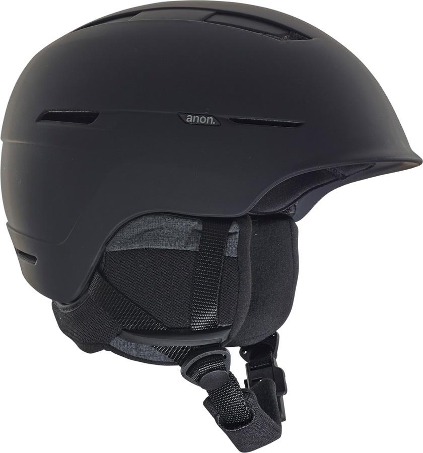 Anon Adult Unisex Invert MIPS Ski/Snowboard Helmet, M Black