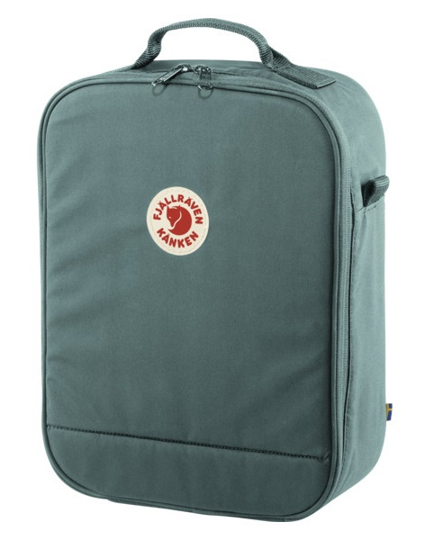 Fjällräven Kanken Photo Insert Padded Camera Bag, Frost Green