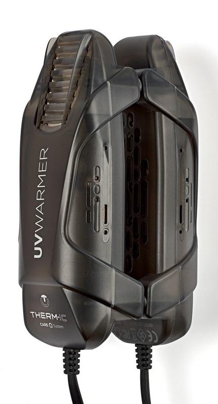 Therm-ic UV Warmer (USB) Glove/Boot Warmer, OS Black