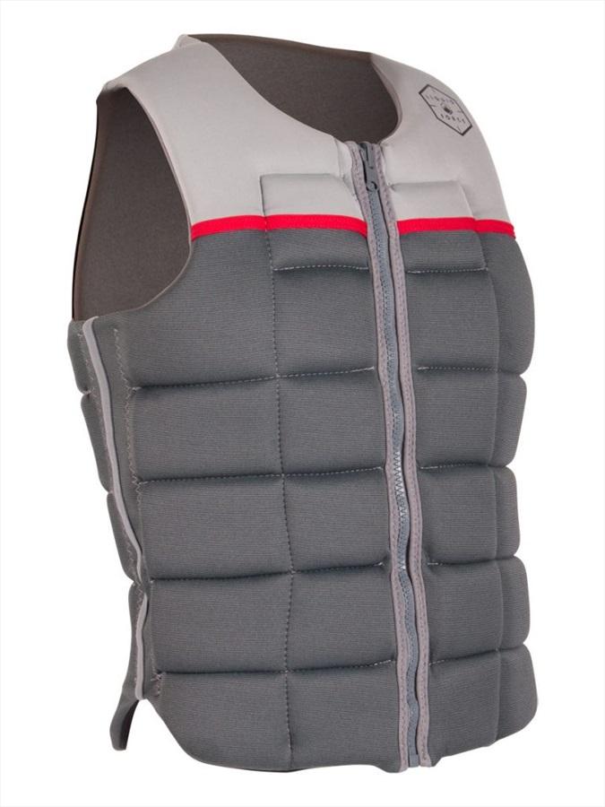 Liquid Force Flex Wakeboard Impact Vest, X Large Silver Grey 2020