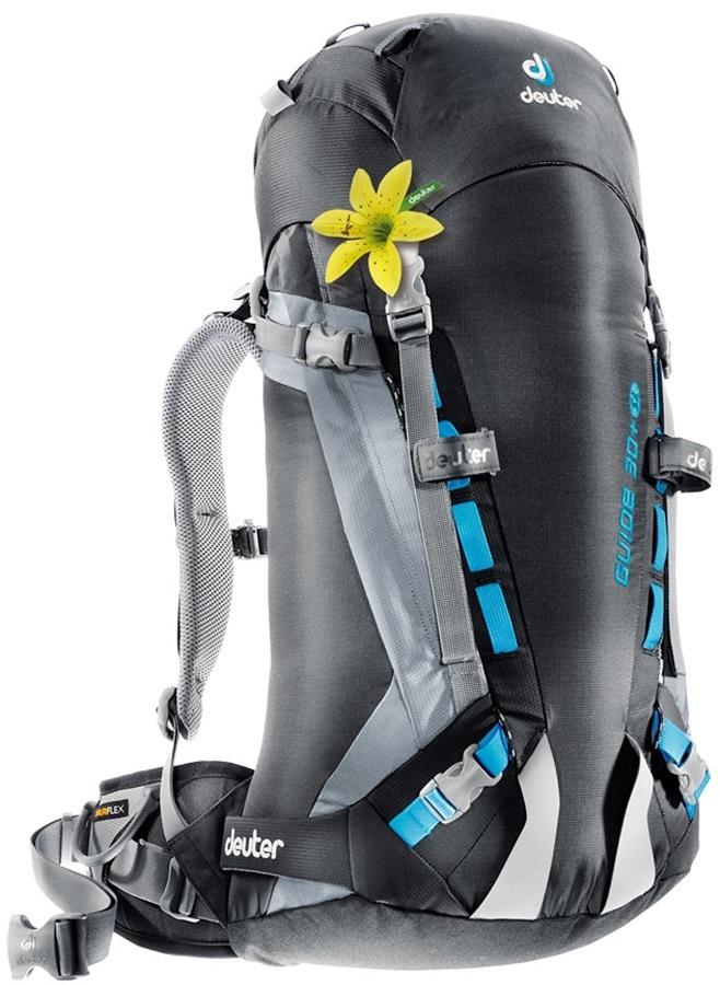 Deuter Guide 30+ SL Women's Alpine Hiking Backpack 30L+ Black Titan