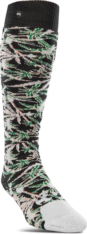 thirtytwo Sweet Leaf Snowboard/Ski Socks, L/XL Camo