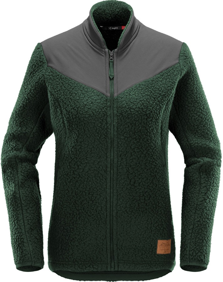 Haglofs Pile Fleece Women's Full-Zip Jacket, M Mineral/Magnetite