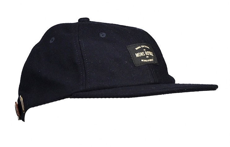 Mons Royale The Birkby 3.0 6-Panel Cap Hat, Navy