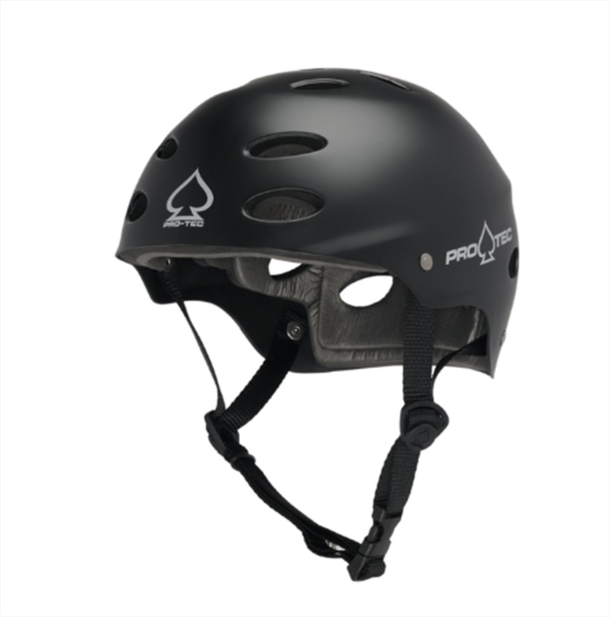 Pro-tec ACE Water Watersports Helmet, Large Matte Black 2020