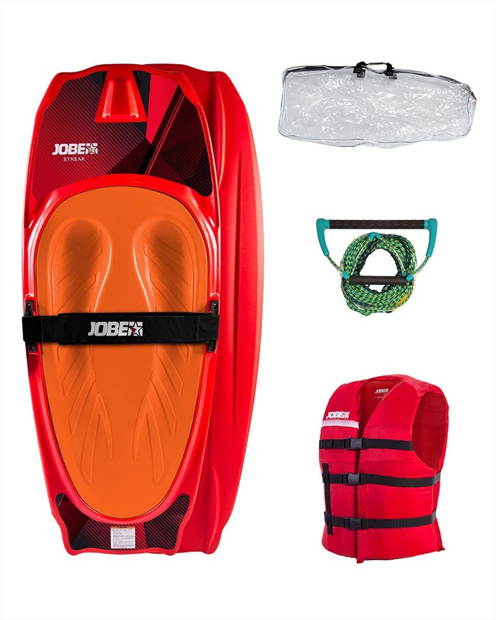 Jobe Streak Performance Kneeboard Package, Red