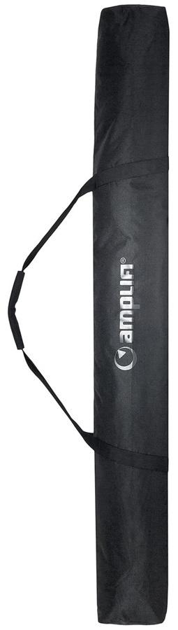 Amplifi Quiver Ski Bag, 180cm Black/White Logo