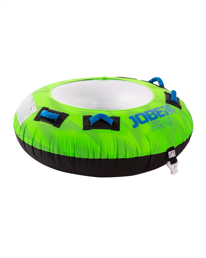 Jobe Rumble Towable Inflatable Tube, 1 Rider Green 2019