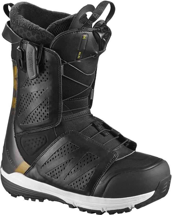 Salomon Hi Fi Mens Snowboard Boot, UK 8.5 Black 2019