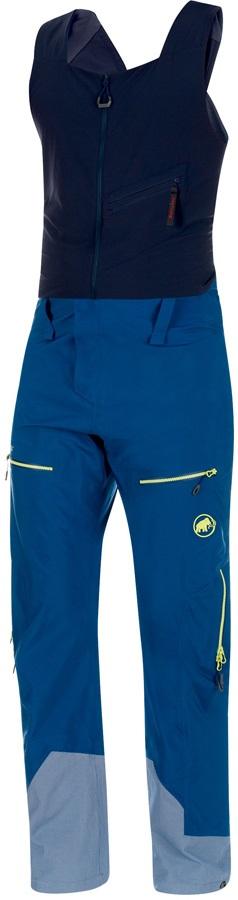 Mammut Alvier Gore Tex Pro HS Ski/Snowboard Bib Pants, L Ultramarine