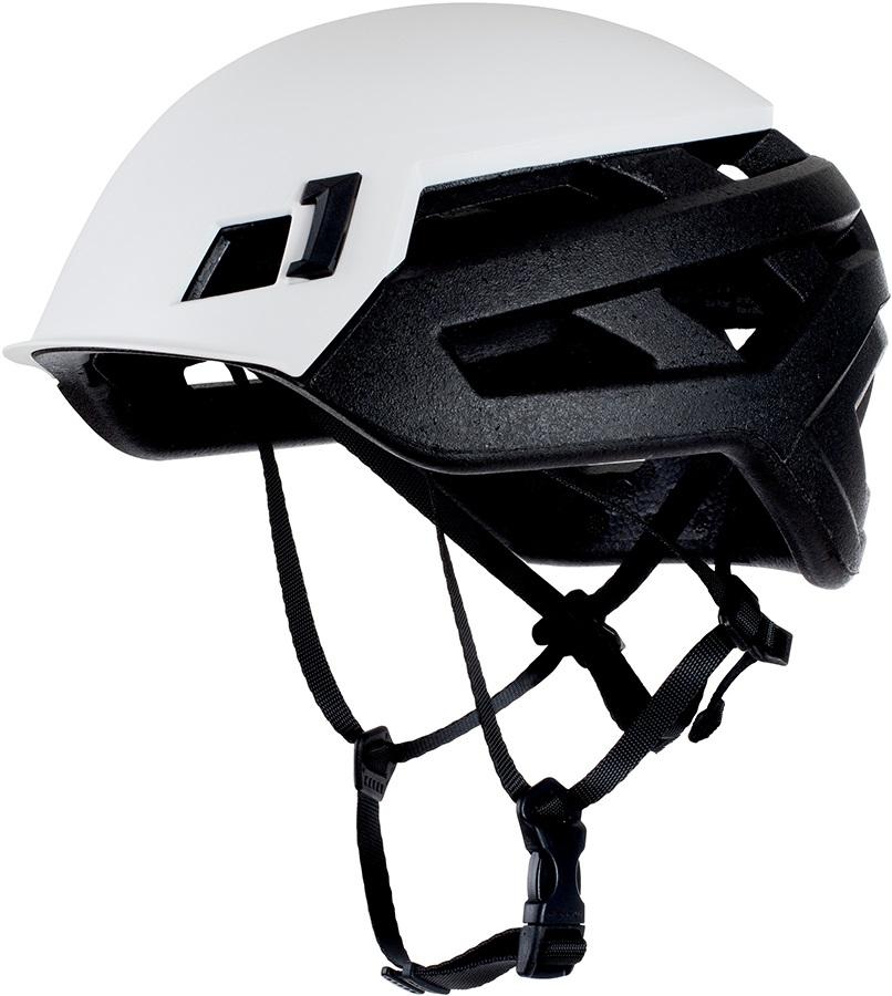 Mammut Adult Unisex Wall Rider Rock Climbing Helmet, 52-57cm White
