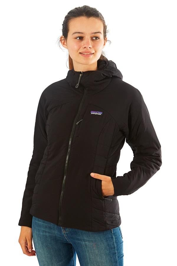 Patagonia Women's Nano Air Hoody Insulated Stretch Jacket S Black