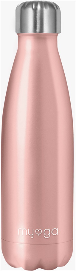 Myga Stainless Steel Water Bottle, 500ml Dusty Pink