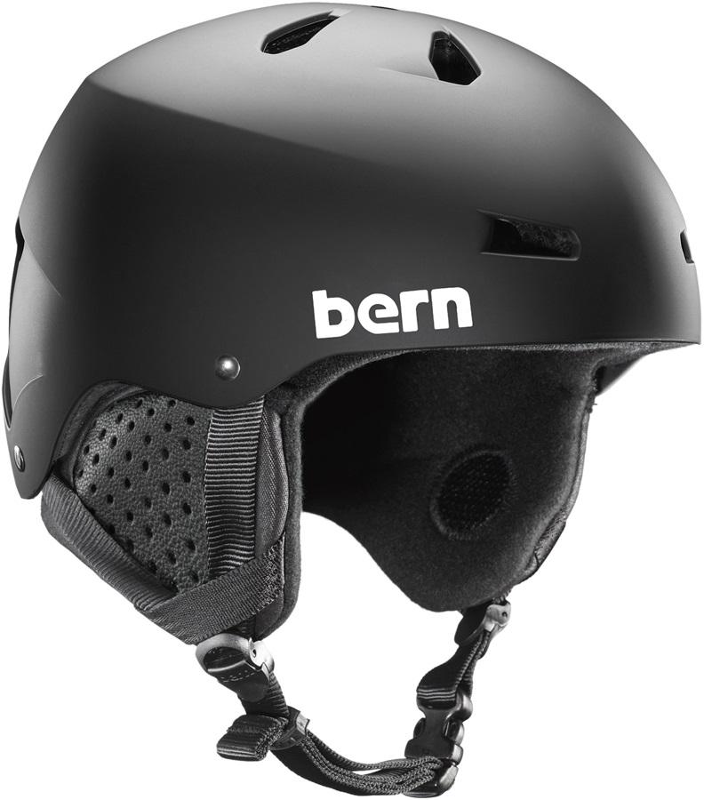 Bern Macon MIPS Winter Snowboard Helmet, L Matte Black