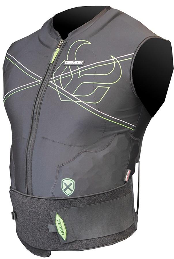 Demon X D3O V2 Ski/Snowboard Body Armour Vest XL Black