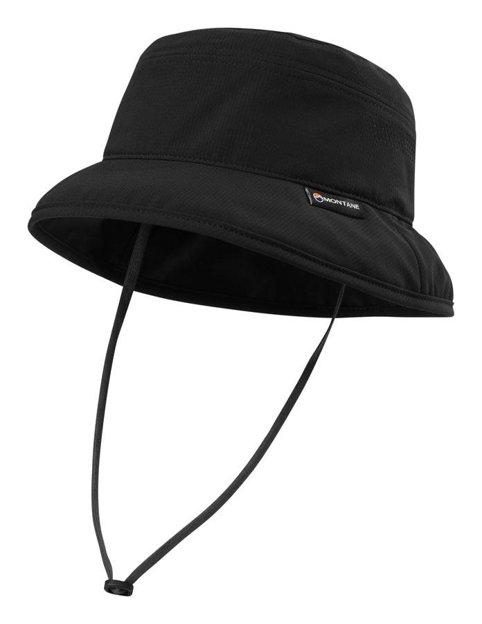 Montane GR Sun Mountain UPF Protective Brim Hat, M/L Black