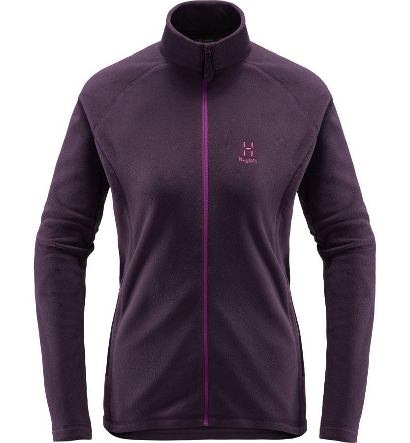 Haglofs Astro Women's Microfleece Jacket, UK 12 Acai Berry/Lilac