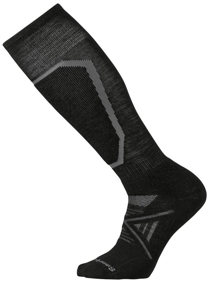 Smartwool PHD Ski Medium Ski Socks, S Black 2020