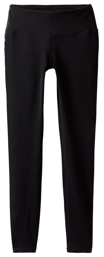 Prana Womens Pillar Yoga & Activewear Leggings - L, Black